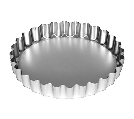 CYNTHIA BARCOMI Pie & Tarte Form 25 cm, Aluminium optimale Hitzeverteilung