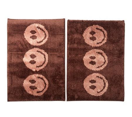 casa fondo mikrofaser 2 fu matten smileys ca 45x65cm page 1. Black Bedroom Furniture Sets. Home Design Ideas