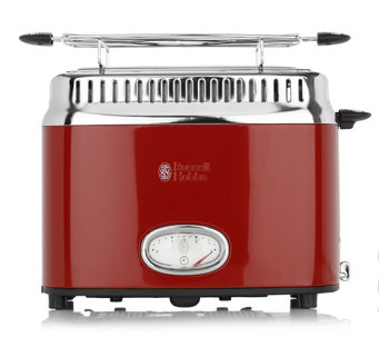 Toaster Retro Ribbon Red - 871486
