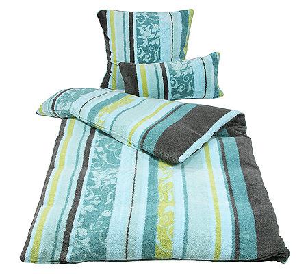 badizio mikrofaser pl schtrikot bl tterornamente bettw sche 3tlg page 1. Black Bedroom Furniture Sets. Home Design Ideas