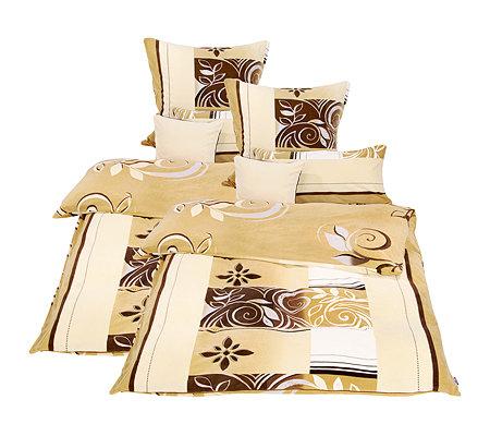 polarstern mf flanell fleece wendebettw sche bl tterranken doppelbett 8 tlg page 1. Black Bedroom Furniture Sets. Home Design Ideas