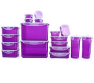 LOCK&LOCK Frischhaltedosen stapelbar 100ml-4,5l 18 Dosen