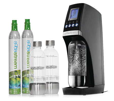 sodastream wassersprudler revolution mit 4 sprudelgraden 2 co2 zylindern page 1. Black Bedroom Furniture Sets. Home Design Ideas