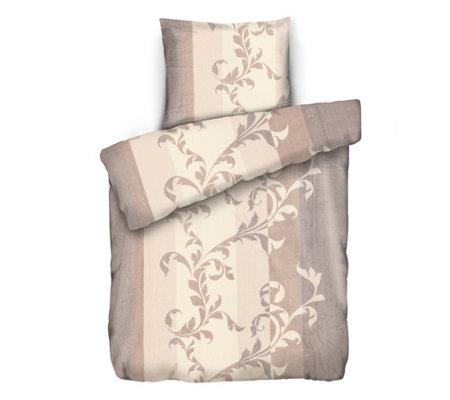 badizio classic mf pl schtrikot bettw sche ranke streifen einzelbett 3tlg page 1. Black Bedroom Furniture Sets. Home Design Ideas