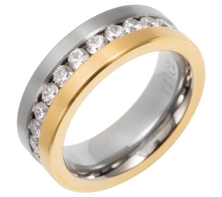 B-Ware DIAMONIQUE® TITAN Eternityring mind. = 1,20ct