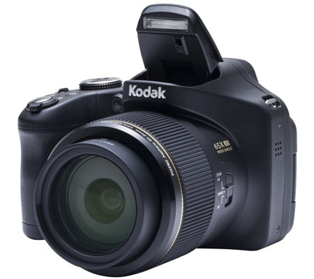 Kodak PIXPRO AZ651 20MP 65x Zoom Camera with 16GB SD & Bag