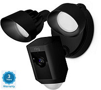 Ring Floodlight Security Camera Wide Angle HD Two-Way Talk w/ 3yr Warranty - E231400