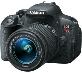 Canon EOS Rebel T5i DSLR Camera w/ EF-S 18-55mm Lens - E269300