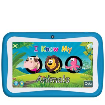 SuperSonic 7 Android Kids Tablet - A9 Quad-Core, 4GB Memory