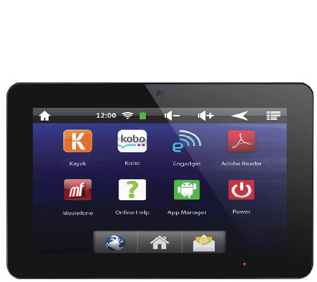 "SuperSonic 10"" Quad-Core 1GB Bluetooth Tablet"