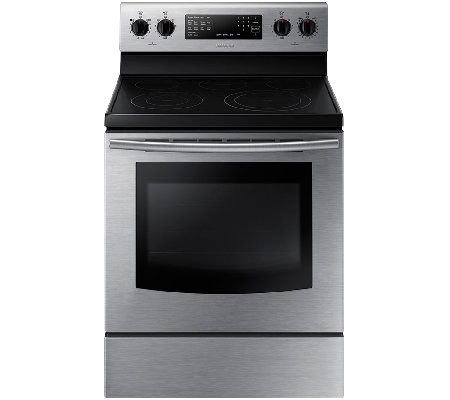 Samsung 5.9 Cu. Ft. Stainless Steel Smooth-TopElectric Range