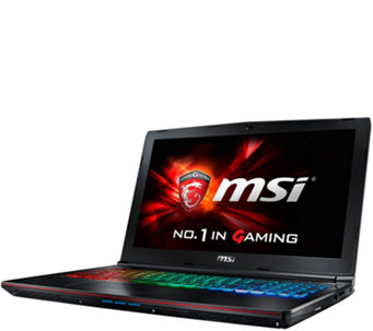 "MSI GE62 15"" Gaming Laptop - Core i7, 12GB RAM,1TB, GTX 970M - E288700"