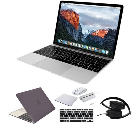"Apple 12"" MacBook - 8GB RAM, 256GB SSD, Accessories - Silver"