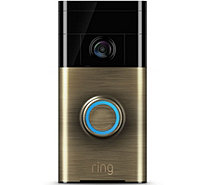 Ring Video Doorbell Two-Way Audio, HD Surveillance 3 Year Warranty - E231001