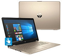 "HP 15"" Touch Laptop Core i5 8GB RAM 2TB HD w/ Backlit Key & Tech Support - E231201"