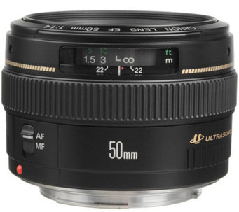 Canon EF 50mm f/1.4 USM Standard & Medium Telephoto Lens - E245401