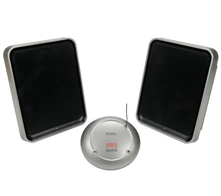 Royal WES600 900MHz Wireless Speaker System
