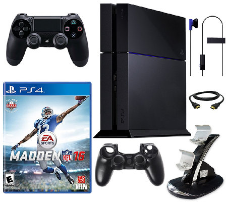 Sony PS4 500GB Bundle with Madden 16 & Accessories