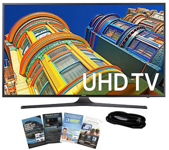 "Samsung 60"" Smart LED 4K Ultra HDTV with HDMI Cable & App Pac - E289001"
