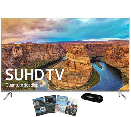 "Samsung 60"" LED Smart Ultra HDTV with App Pack& HDMI Cable"