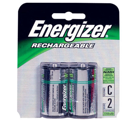 Energizer CNH2 C Cell Batteries - 2 pack