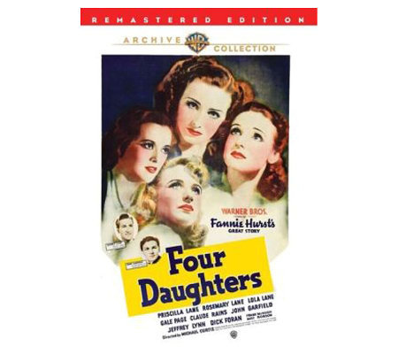Four Daughters (Remastered) (1938) - DVD