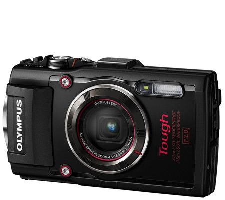 Olympus Tough TG-4 16MP Waterproof Compact Digital Camera