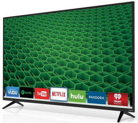 "VIZIO 55"" 1080p LED Smart HDTV w/ 2 yr Warranty"