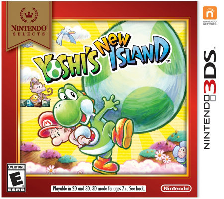 Nintendo Selects: Yoshi's New Island - 3DS