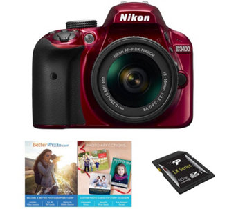Nikon D3400 DSLR Camera with 18-55mm Lens - E290802