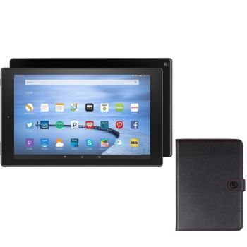 Amazon Fire HD 10 16GB Wi-Fi Tablet with Case