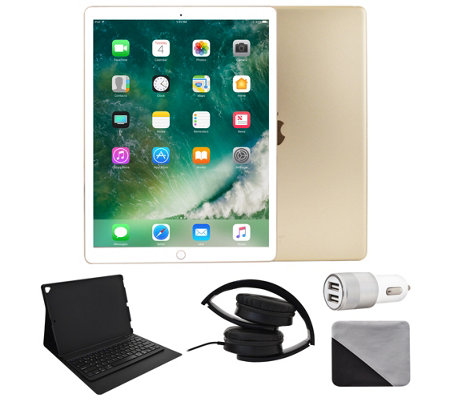 "Apple iPad Pro 12.9"" 512GB Cellular with Accessories - Gold"