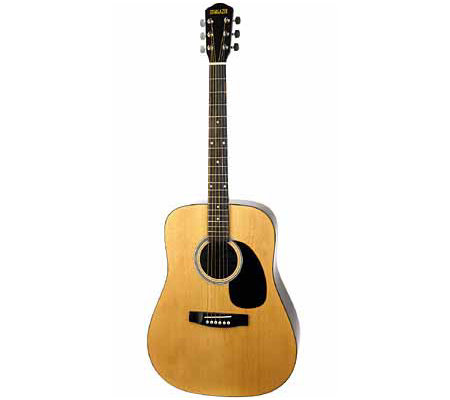 music industries upp 6a stargazer acoustic hardwood guitar. Black Bedroom Furniture Sets. Home Design Ideas