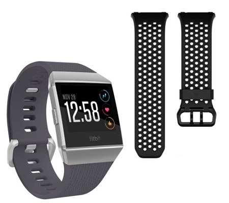 Fitbit Ionic Smartwatch with Additional Sport Band