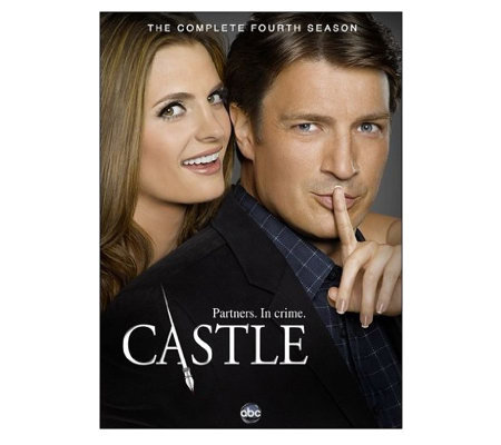 Castle Season 4 Five-Disc Set DVD