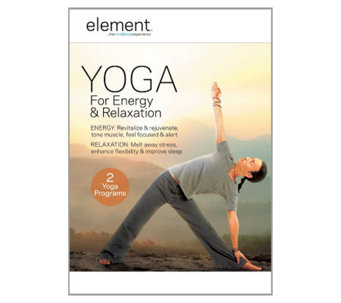 Element: Yoga for Energy and Relaxation DVD - E265903