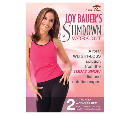 Joy Bauer's Slimdown Workout - DVD