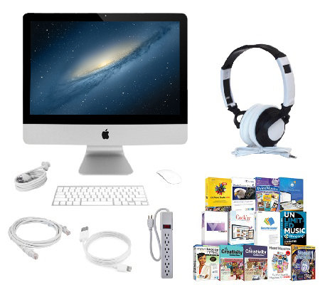 "Apple 21.5"" iMac - Intel Core i5, 8GB RAM, 1TBHDD, Software"