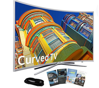 "Samsung 78"" Curved Smart 4K SUHDTV with HDMI Cable & App Pack - E289003"