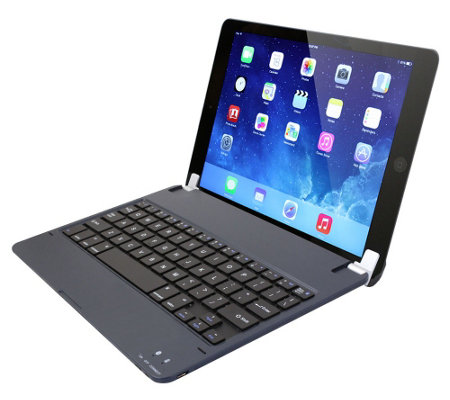 Ultra Thin Notebook Style Bluetooth Keyboard for Apple iPad Air