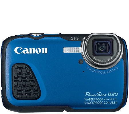 Canon Powershot D30 12.1 Megapixel Waterproof Digital Camera