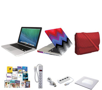 "Apple Macbook Pro 13"" Bundle w/ Accessories, Clip Case and 3-in-1 Tote Bag - E230004"