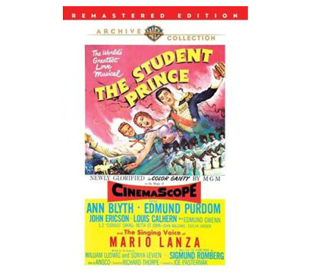 The Student Prince (1954) - DVD