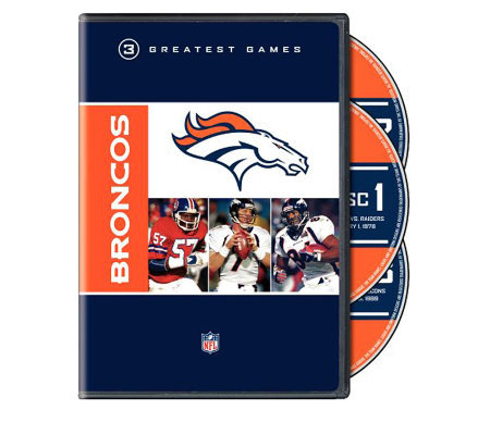 NFL Greatest Games Series: Denver Broncos - 2-Disc DVD Set
