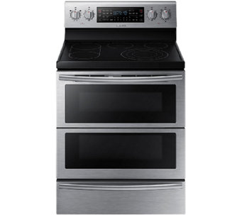 Samsung 5.9 Cu. Ft. Flex Duo Electric Range - Stainless Steel - E285904