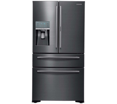 Samsung 22 Cu. Ft. French Door Refrigerator - Black Stainless