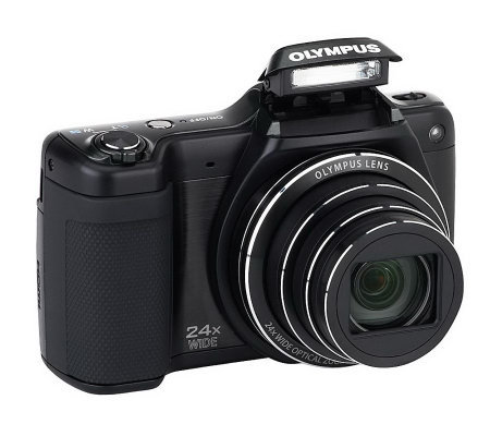 Olympus SZ-15 16MP 24x Long Zoom Digital Camera with Software