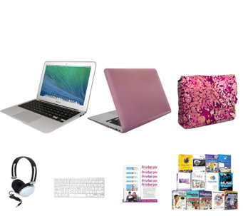 "Apple Macbook Air 13"" Bundle w/ Accessories, Clip Case and 3-in-1 Tote Bag - E230005"