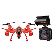 Mini Orion HD Camera Drone Live-Stream LCD Extra Batteries 6mo Replacement - E230105