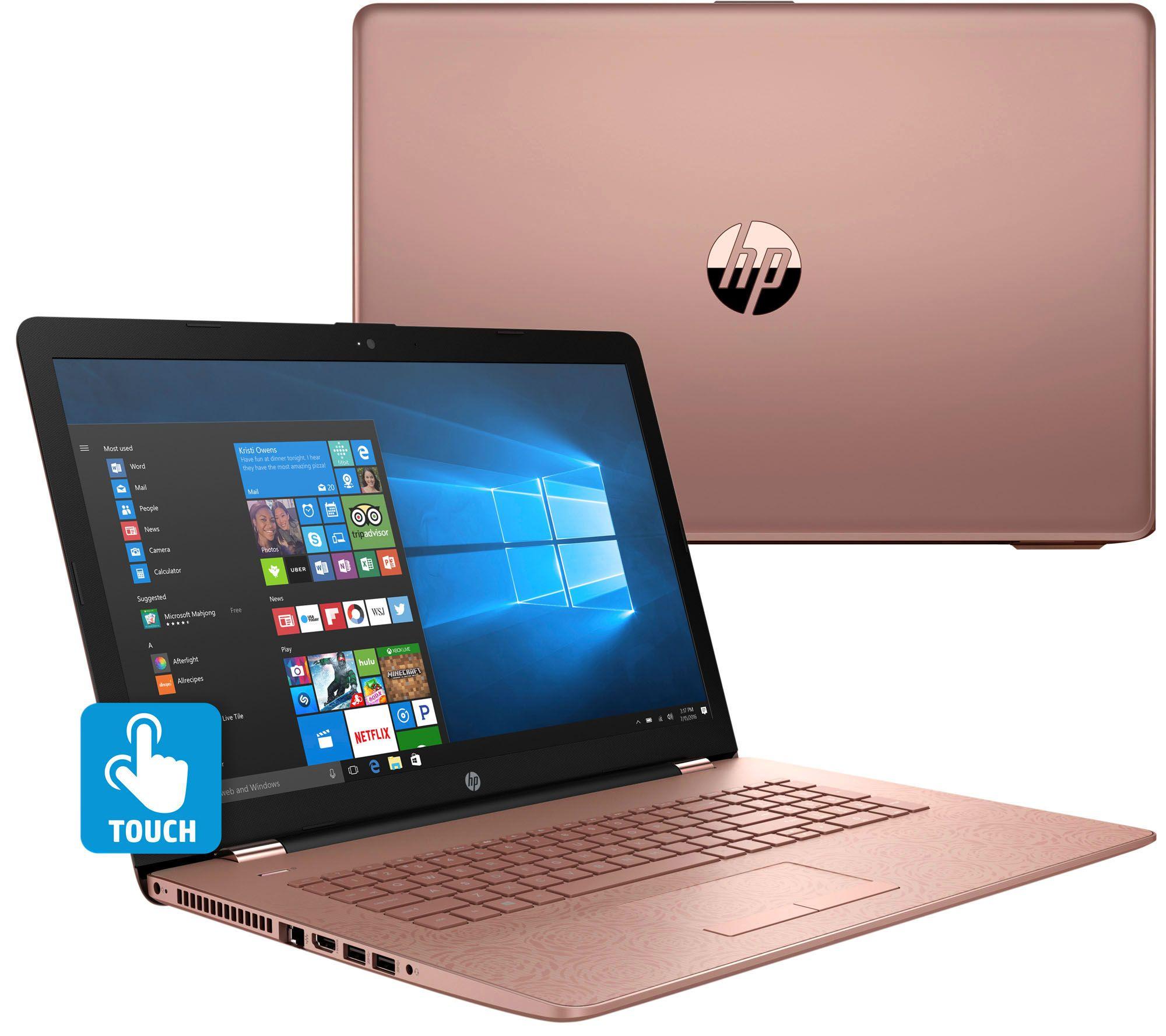 Qvc  Hp 15  17 U0026quot  Touch Laptop  Core I5 8gb Ram 2tb Hdd W